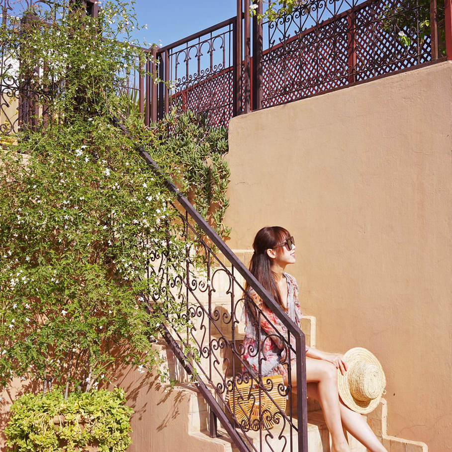 Rooftop at Riad melhoun & spa